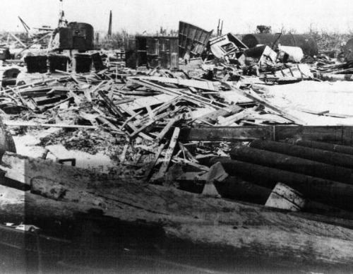 The Great Hurricane Destroyed Islamorada and The Upper Keys