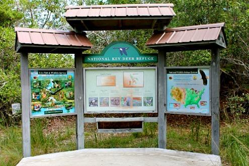 Key Deer National Wildlife Refuge Informational Board
