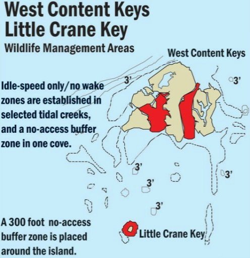 West Content Keys Wildlife Management Area Map