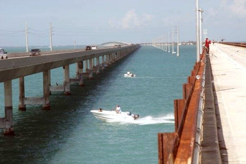 Fishing Seven Mile Bridge