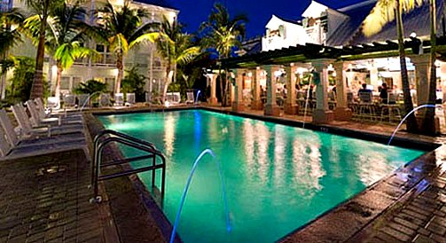 Southernmost Hotel at Night