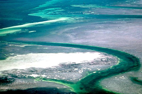 Aerial of Key West Flats
