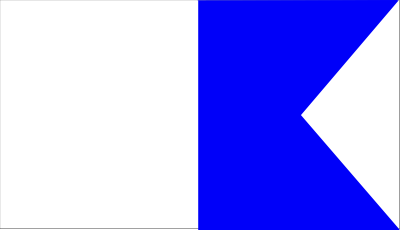 Alpha Diver Down Flag