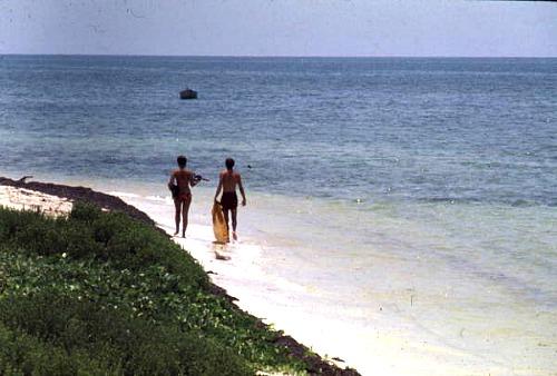 Sandspur Beach at Bahia Honda State Park on Big Pine Key