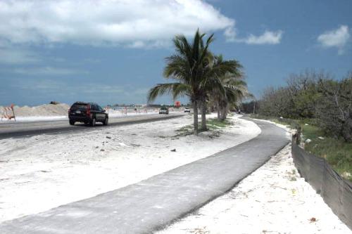 Florida Keys Overseas Heritage Bike Trail Map Bicycling Florida Keys Safety Tips And Bike Trail Maps