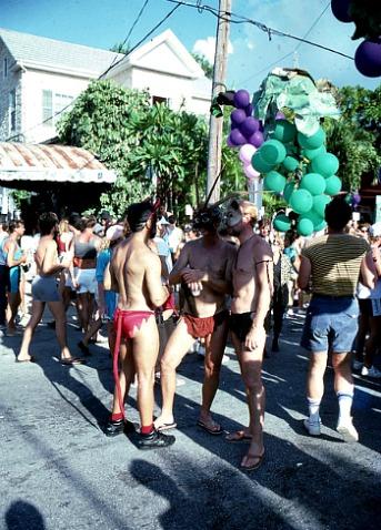 Butt Cheeks are a Common Fantasy Fest Sight