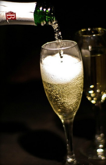 Champagne Toast To Celebrate Your Day