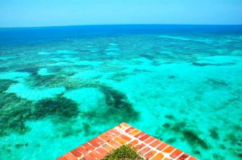 Crystal Clear Water At Fort Jefferson