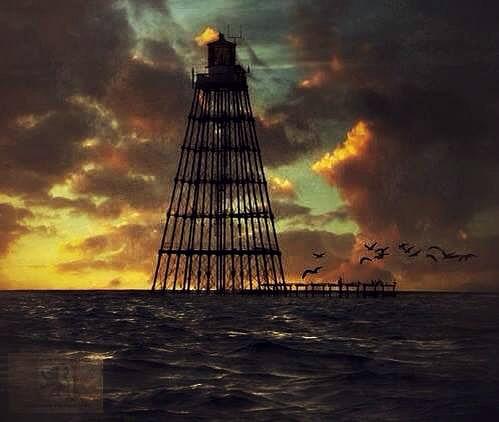 Dawn At Sand Key Lighthouse