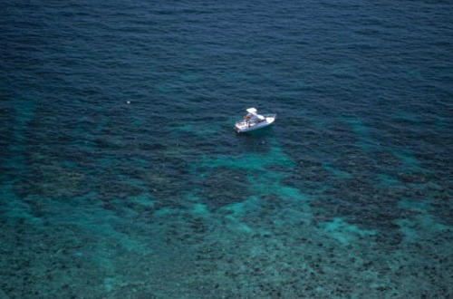 Boat at Eastern Sambo Reef