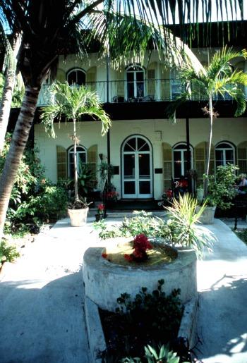 Entrance to Ernest Hemingway House, Key West FL