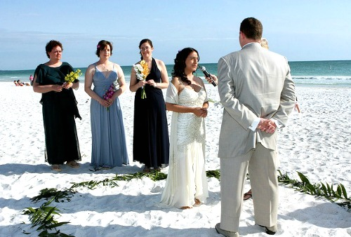 Exchanging Wedding Vows Seals the Marriage