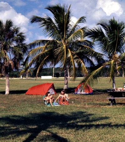 Camping in Florida Keys