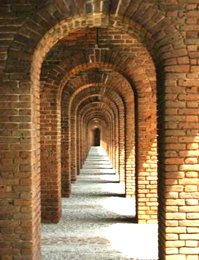 Covered Archway at Fort Jefferson