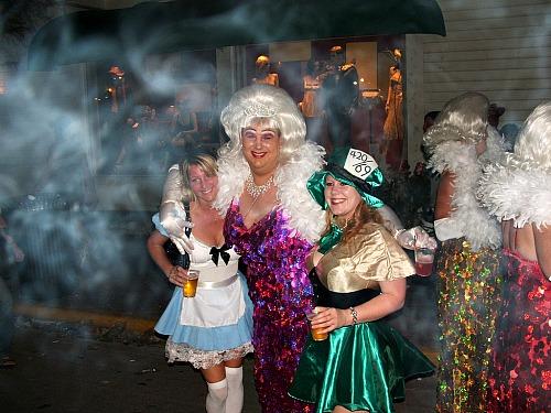 Mardi Gras Ball Attire