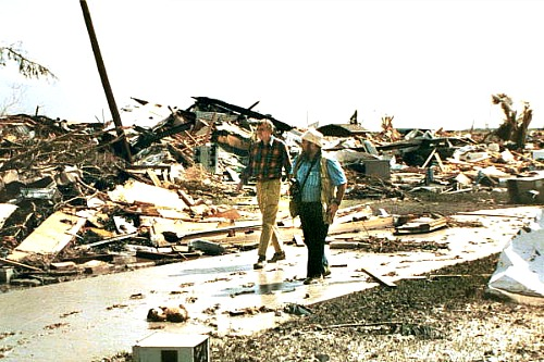 Hurricane Andrew Destroyed Homestead and Miami