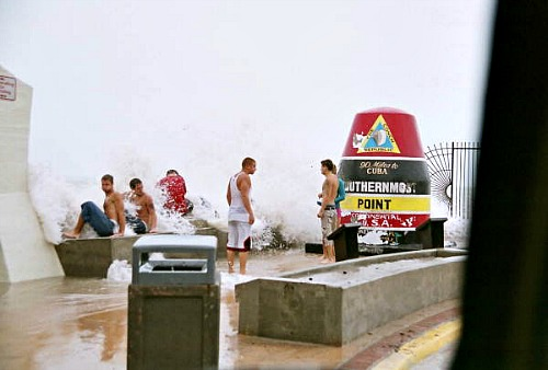 Hurricane Rita's Outer Bands Hit Key West