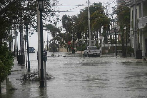 Wilma Caused Flooding in Florida Keys