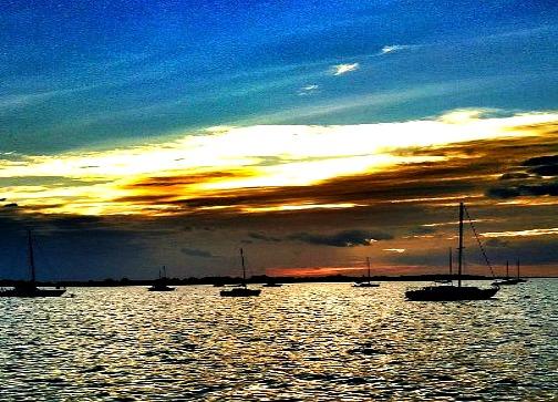 Key West Blue Sunset