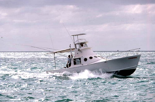 Key West fishing charter boat