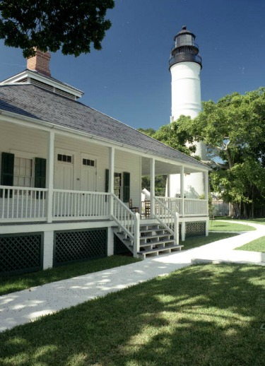 Lighthouse Keepers Quarters and Key West Lighthouse