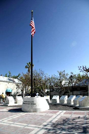 Military Memorial Near Mallory Square