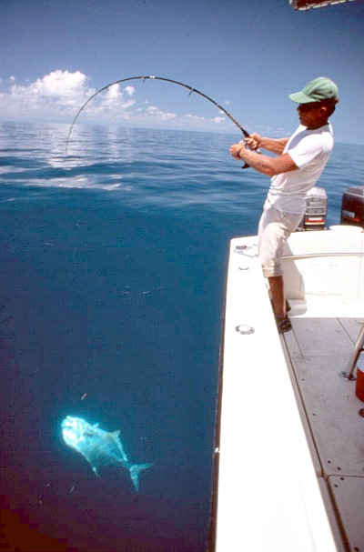 Fishing for permit off Key West and the Marquesas Keys