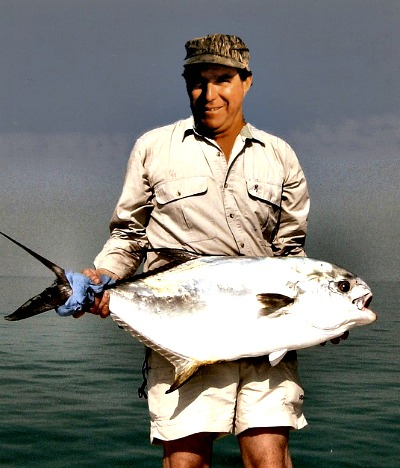 Large Permit Caught