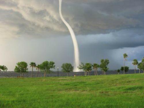 Waterspout at Punta Gorda Florida