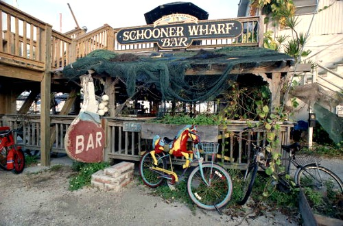 Schooner Wharf Bar at Seaport Harbor Walk