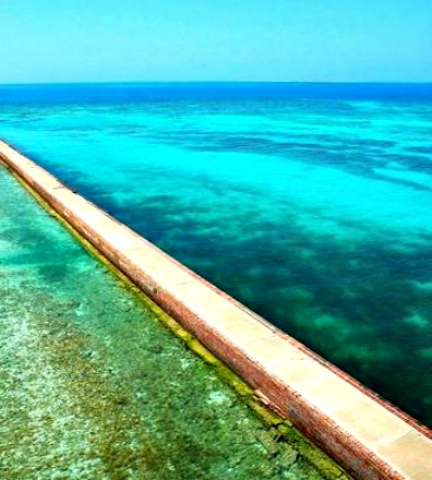Beautiful, Sparkling Water Adds to the Romance at Fort Jefferson