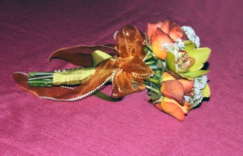 Tied Wedding Bouquet