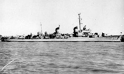 USS Fred T Berry at Sea