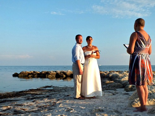Florida Keys Beaches are Romantic Wedding Spots
