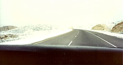 Blizzard Road Conditions As We Hurry South to the Florida Keys