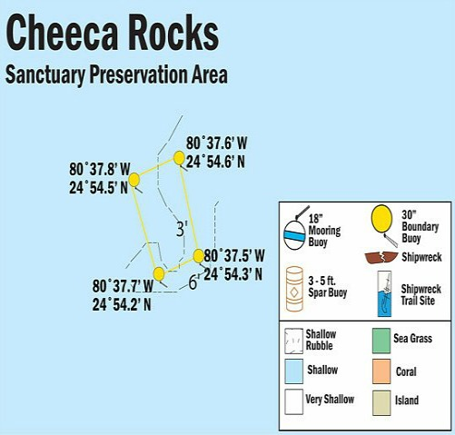 Cheeca Gardens Map