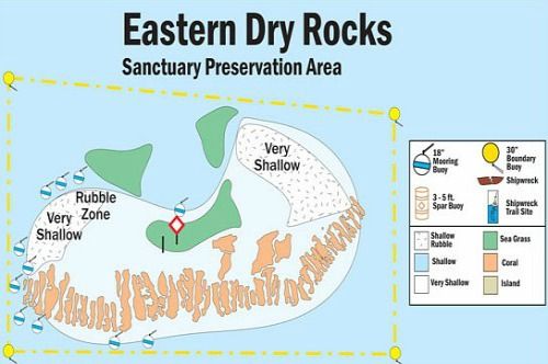 Eastern Dry Rock Map