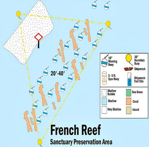 French Reef Map