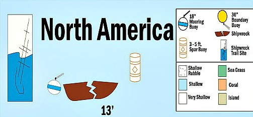 North America Buoy Map