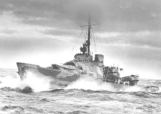USCG Duane on North Atlantic High Seas