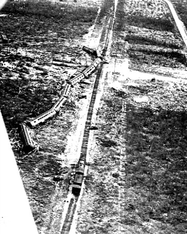 1935 Labor Day Hurricane Derails Florida Keys Train