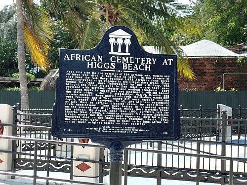 African Cemetery at Higgs Beach