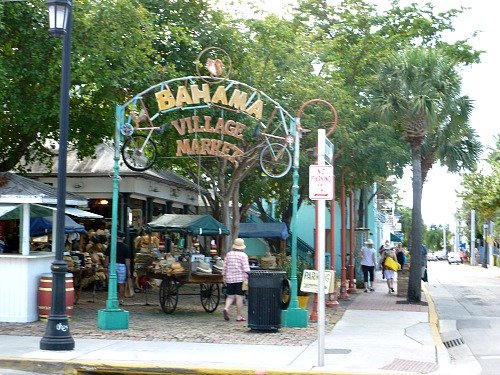 Bahama Village Entrance