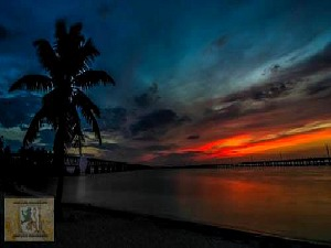 Spectacular Bahia Honda Sunset