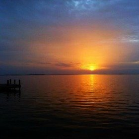 Sun Setting Over the Florida Keys