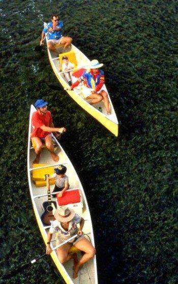 Canoeing Big Pine Key