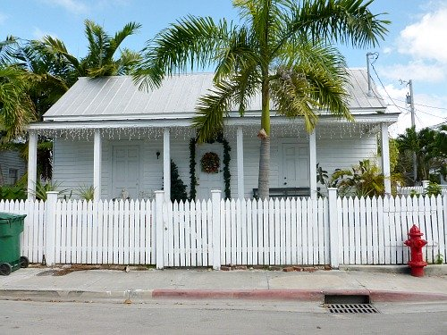 Traditional Conch House in Bahama Village