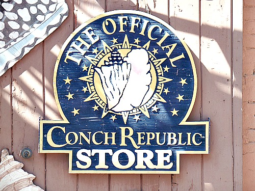 Emblem And Seal At Conch Republic Store Key West FL