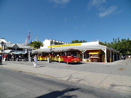 Conch Train Depot In Key West FL