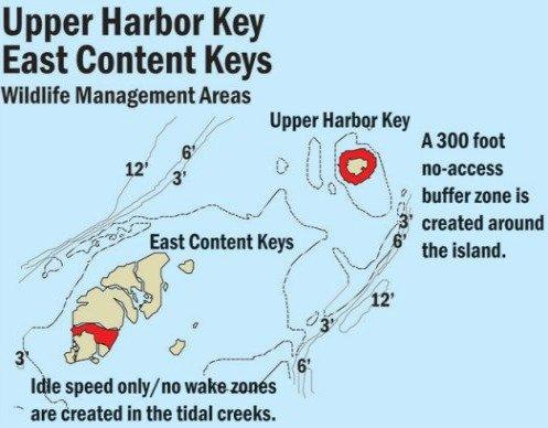 East Content Keys Map
